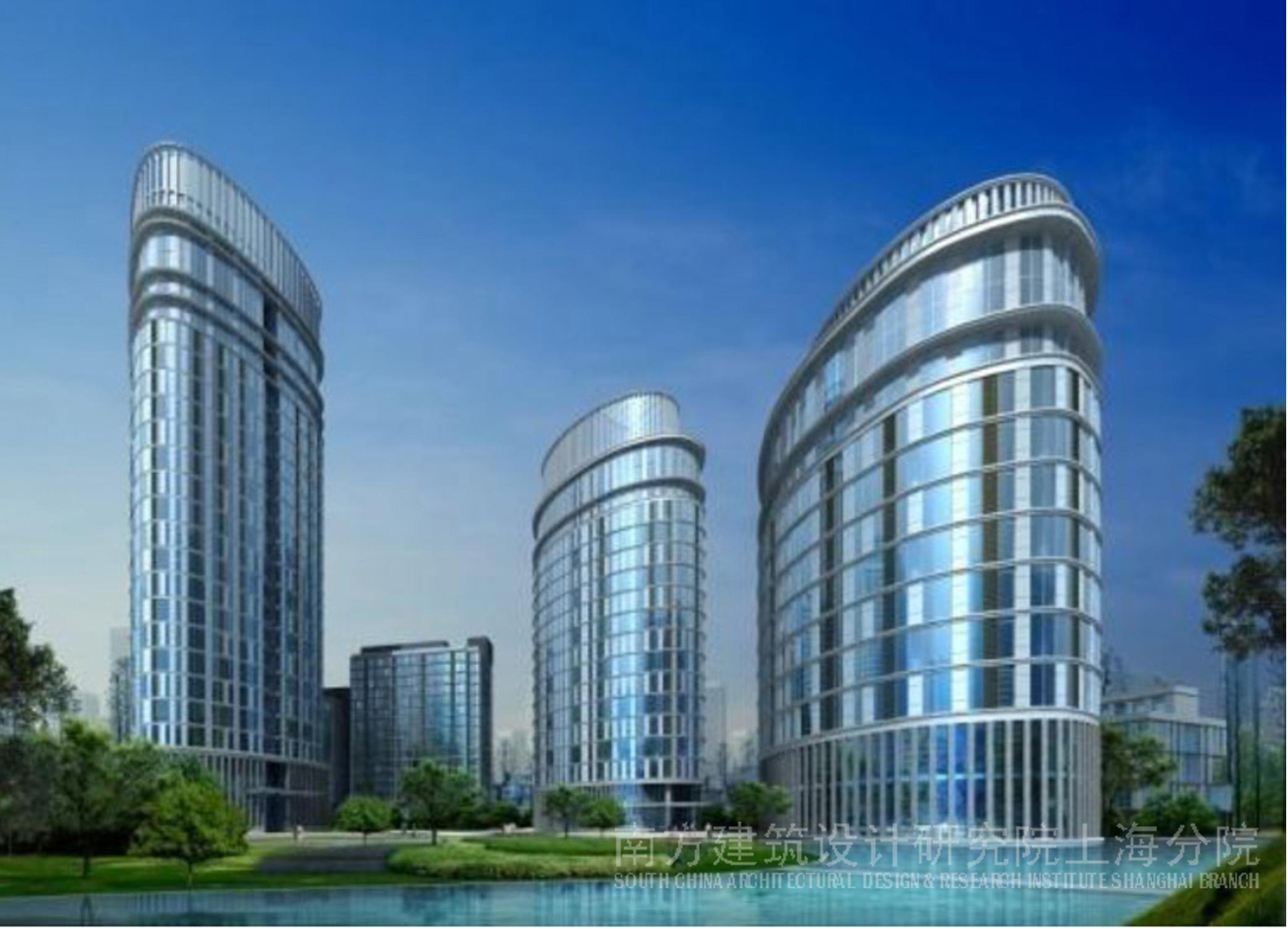 均胜总部基地建筑规划设计 高清图片